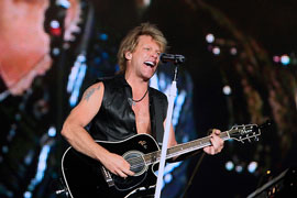 Bon Jovi tour in Israel 2015