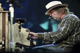 Neil Young in Israel