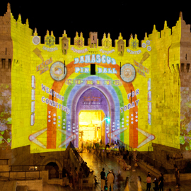 Jerusalem Light Festival 2016