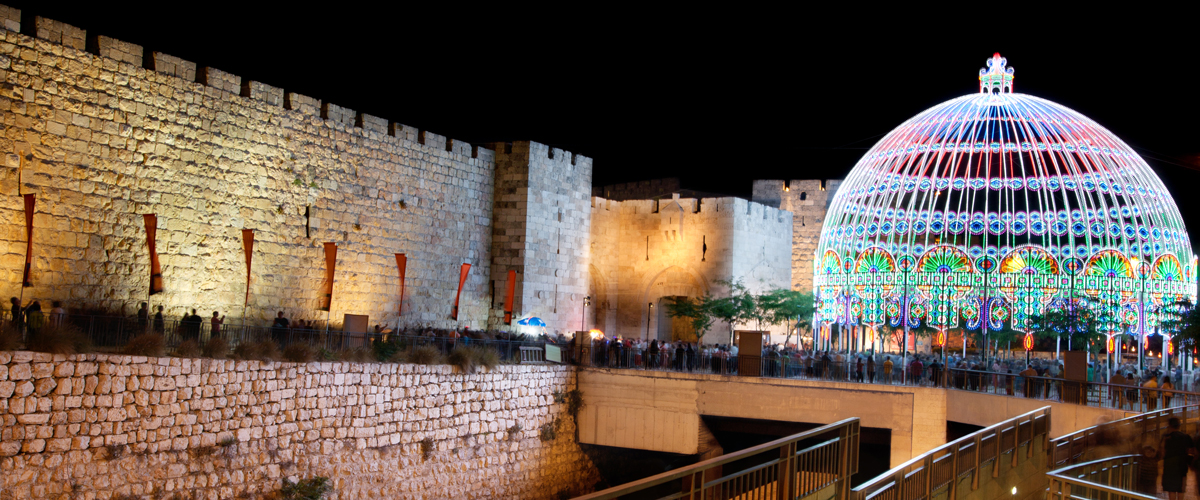 Jerusalem Light Festival 2015